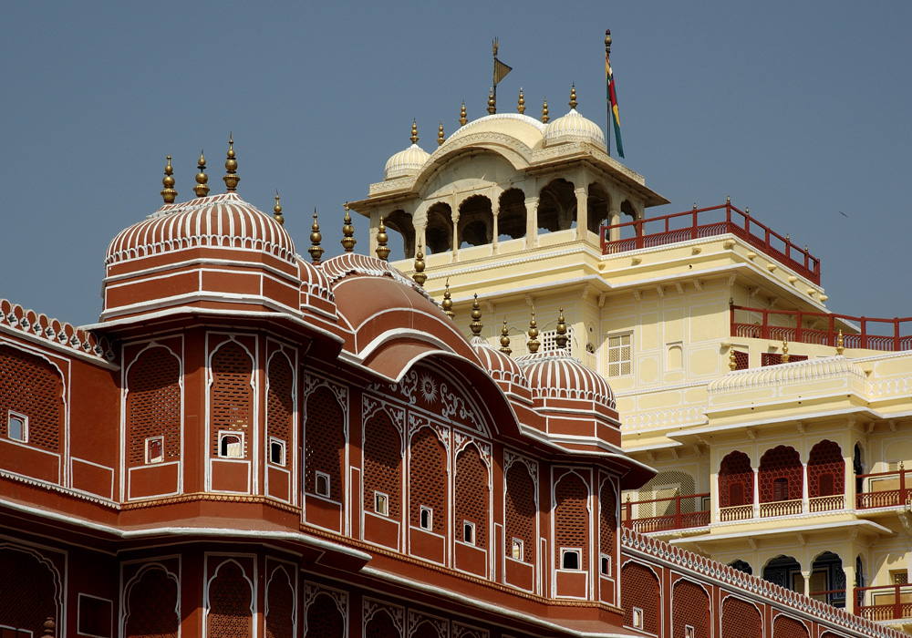 Jaipur India City Palace photograph by Raphael Shevelev