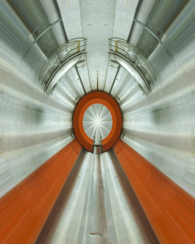 Linear Accelerator abstract digital art photograph Raphael Shevelev