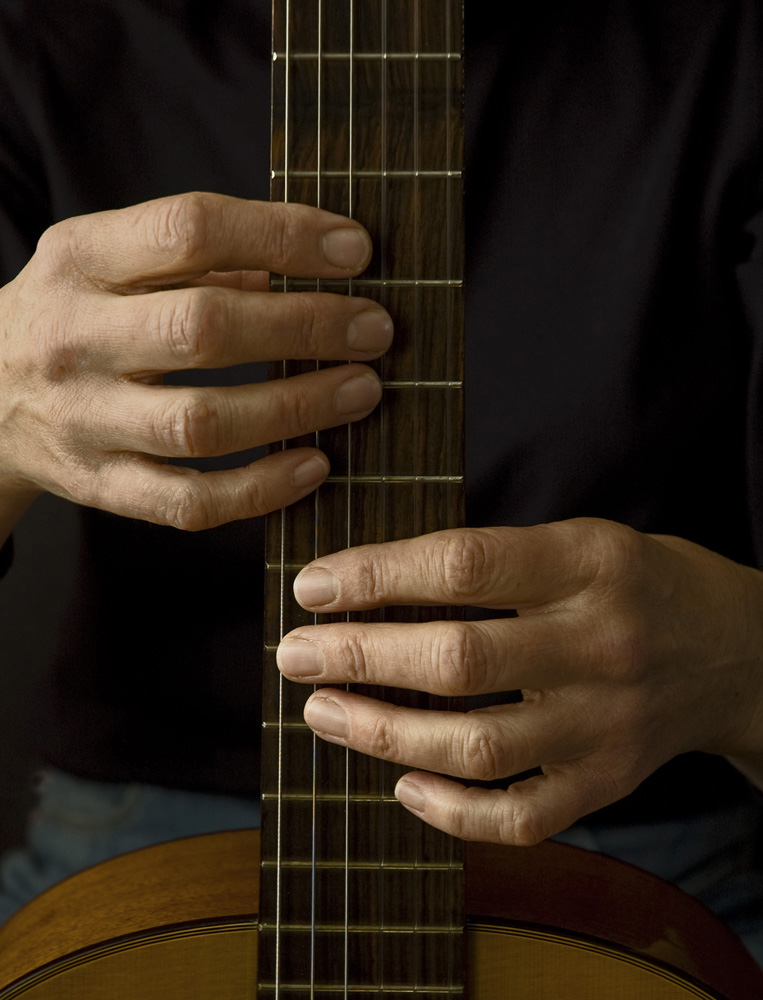 Hands on Guitar | Photograph by Raphael Shevelev