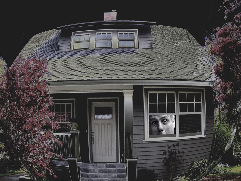 Shrink house digital image photograph art Raphael Shevelev