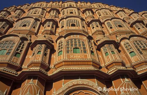 Palace of the Winds Jaipur Rajasthan India photograph by Raphael Shevelev