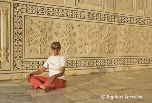 Karine at Taj