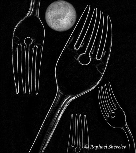 Moonrise over Forks