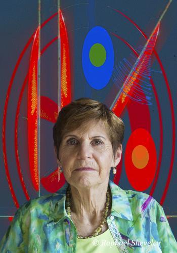 Noleen at MOMA