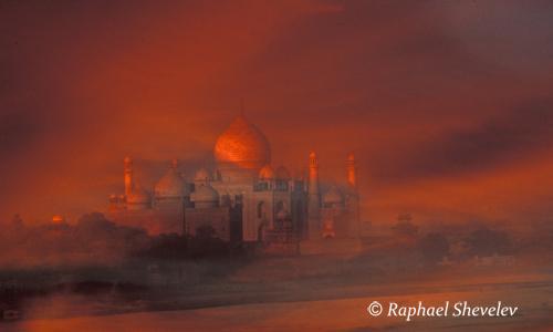 Sunset at Taj