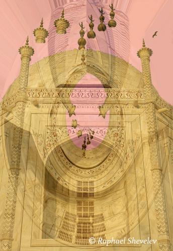 Levitating the Taj