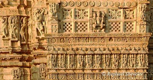 Temple Chittaurgarh (detail)