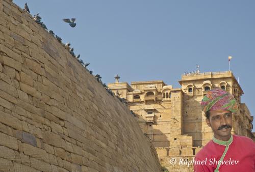 Walls of Jaisalmer
