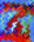 Waves abstract image digital art photograph Raphael Shevelev