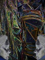 Reconciliation abstract image digital art photograph Raphael Shevelev
