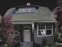 Shrink house digital image photograph art Raphael Shevelev