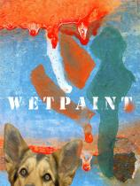Price of illiteracy dog wet paint photograph Raphael Shevelev