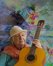 Miriam At 100 - The Melody Continues | Photograph by Raphael Shevelev