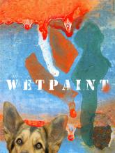 Price of illiteracy dog wet paint photograph Raphael Shevelev